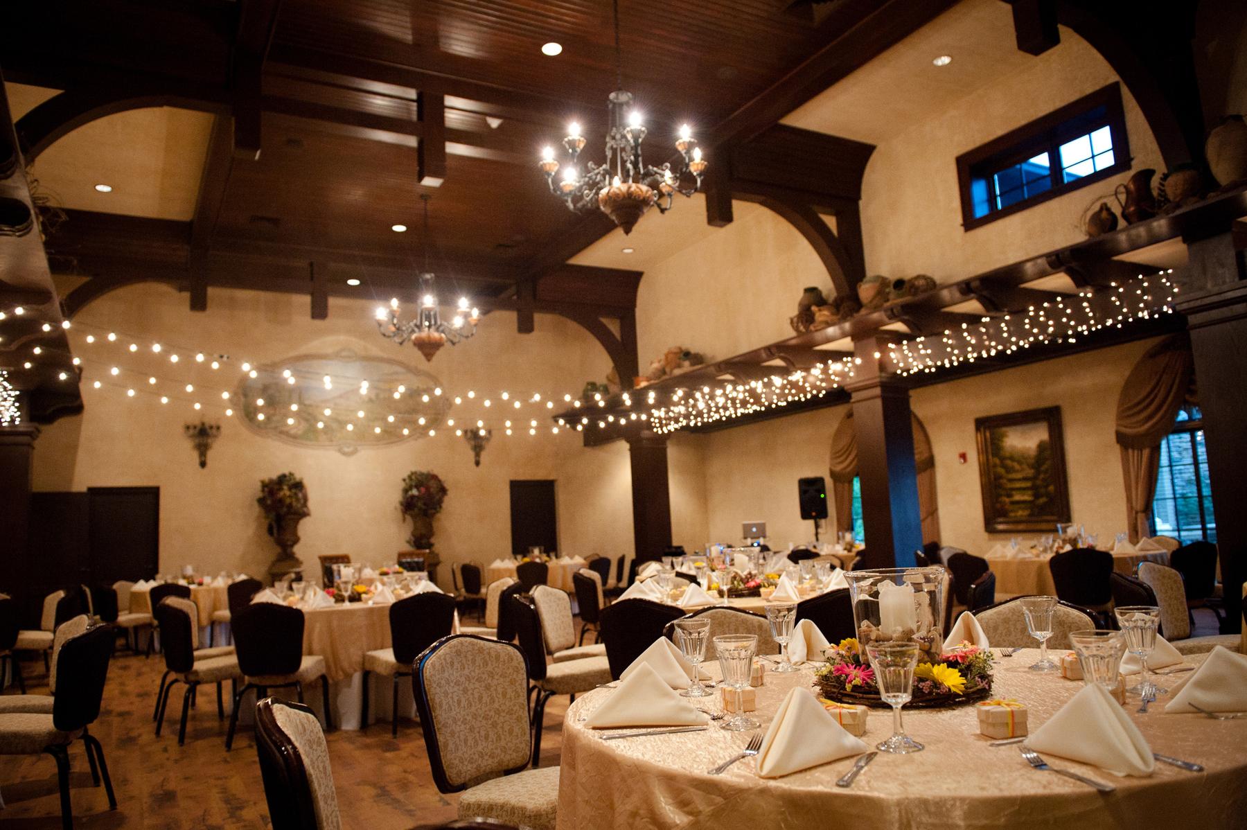 Childress Vineyards Events Banquet